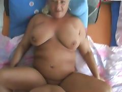 German Old and Young, Aged, Amateur, BBW, German, Granny