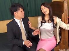 Hot Asian gangbang girl with breathtaking fake tits porn tube video