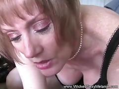 Nasty Amateur Cum Swallower Melanie porn tube video