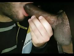 GloryholeThess : Monster black dick! tube porn video