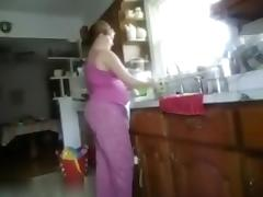 Obese pair made their 1st home movie scene