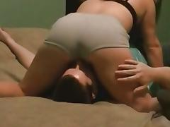 Gal acquires her bawdy cleft licked on top of her garments porn tube video