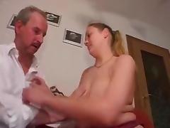 Thick German amateur fucks older guy porn tube video