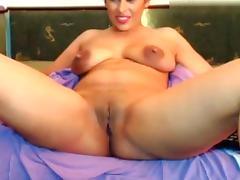 18 19 Teens, 18 19 Teens, Big Tits, Brunette, Masturbation, Solo