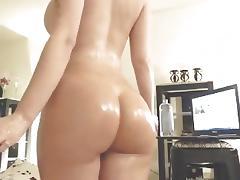 Latin Babe Having Pleasure With Oil porn tube video