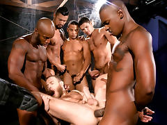 Race Cooper & Tyson Tyler & Shawn Wolfe & Dato Foland & Boomer Banks in Into Darkness Video tube porn video