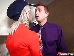 free Stewardess porn videos