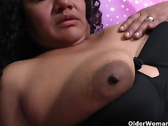Latina milfs Sharon and Maribel need to get off after work porn tube video