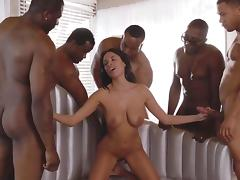 Banging, Banging, Gangbang, Group, Holiday, Interracial