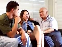 Husband Loves To Watch Wife With Her Moroccan Lover tube porn video