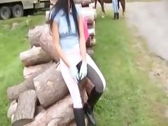 Beautiful Country Girl is a Semen Target tube porn video