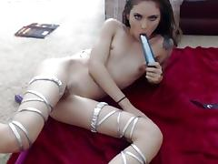 Delicious small tit angel on webcam