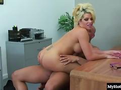 Big Tits, Big Tits, Couple, Hardcore, MILF, Office
