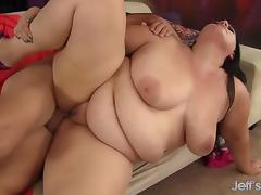 Pretty plumper Becki Butterfly gets fucked hard. porn tube video
