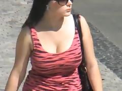 Candid - Busty Bouncing Tits Vol 12 porn tube video