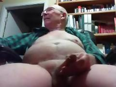 grandpa big tool play on cam (no cum) tube porn video