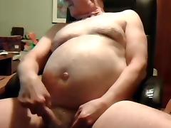 grandpa stroke and cum on cam porn tube video