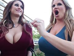 Big Titty Bitches went out for a group sex encounter