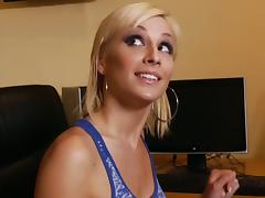 Lexi takes Danny's cock