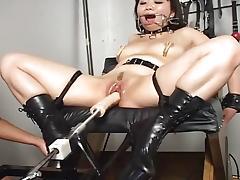 Asian, Asian, Dildo, Pussy, Toys, Vibrator