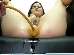 British, Anal, BDSM, British, Enema, Huge