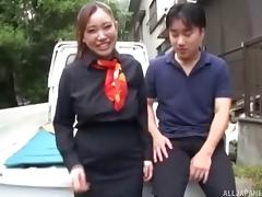 It's time for the hardcore outdoors pounding in the Japanese way! porn tube video