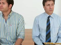 Femdom Brooklyn Lee jerking sub porn tube video