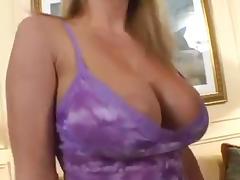 blonde MILF slut used by big cock