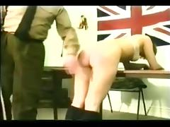 Army caning tube porn video