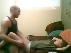 Pretty redhair wife make a great fucking session with lustful husband,my friends porn tube video