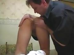 Old Man, Anal, Ass, Assfucking, Blowjob, College