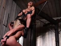 Beautiful fetish chocolatehole actions with latex and bdsm porn tube video