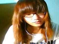 Cute singapore girl flashing her boobs on skype