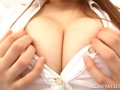 japanese teacher has a gigantic pair of tits porn tube video