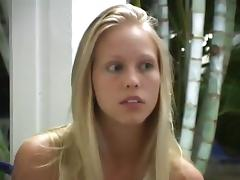 cute college girl gets her ass and pussy fingered