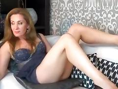 Italian Amateur, Blonde, Masturbation, MILF, Solo, Webcam