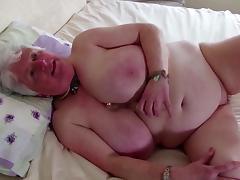 Grandma, Amateur, Big Tits, Boobs, Cunt, Granny