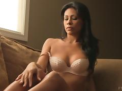 Cassandra's shaved beaver is almost always on fire! porn tube video