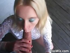 Blonde slut lies and waits tube porn video