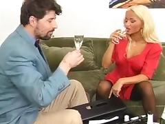 Wine tasting porn tube video