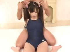 Perfect stimulation for young hottie Shizuku
