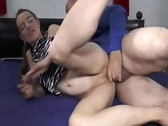 Teen pussy double fisting and cock penetration