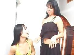 Girl And Shemale Bonk Each Other