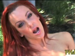 Pussy stuffed by dildo tube porn video