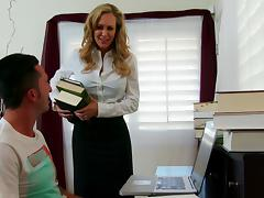 My first teacher Mrs. Brandi Love tube porn video