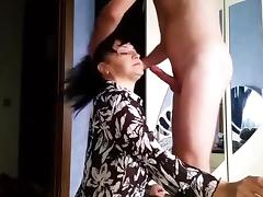 Mom and Boy, Amateur, Mature, Old, Old and Young, Older
