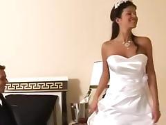 Bride, Anal, Beauty, Bride, Brunette, Cute