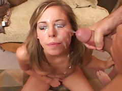 Drenched in cum porn