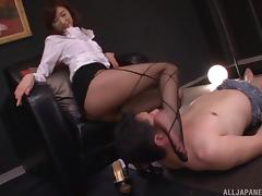 Feet fetish adventure with the unforgettable Ichika Kanhata porn tube video