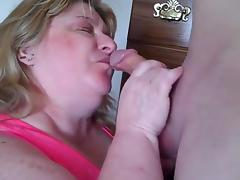 Ball Licking, Amateur, BBW, Blowjob, Chubby, Chunky